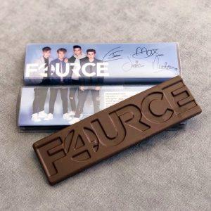 Chocoladereep producten merchandise bedrukt promotie