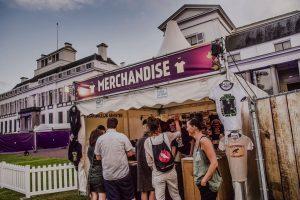 Merchandise & Entertainment stand Van Morrison